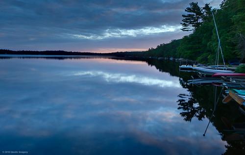 sky lake sunrise reflections skyscape twinlakes