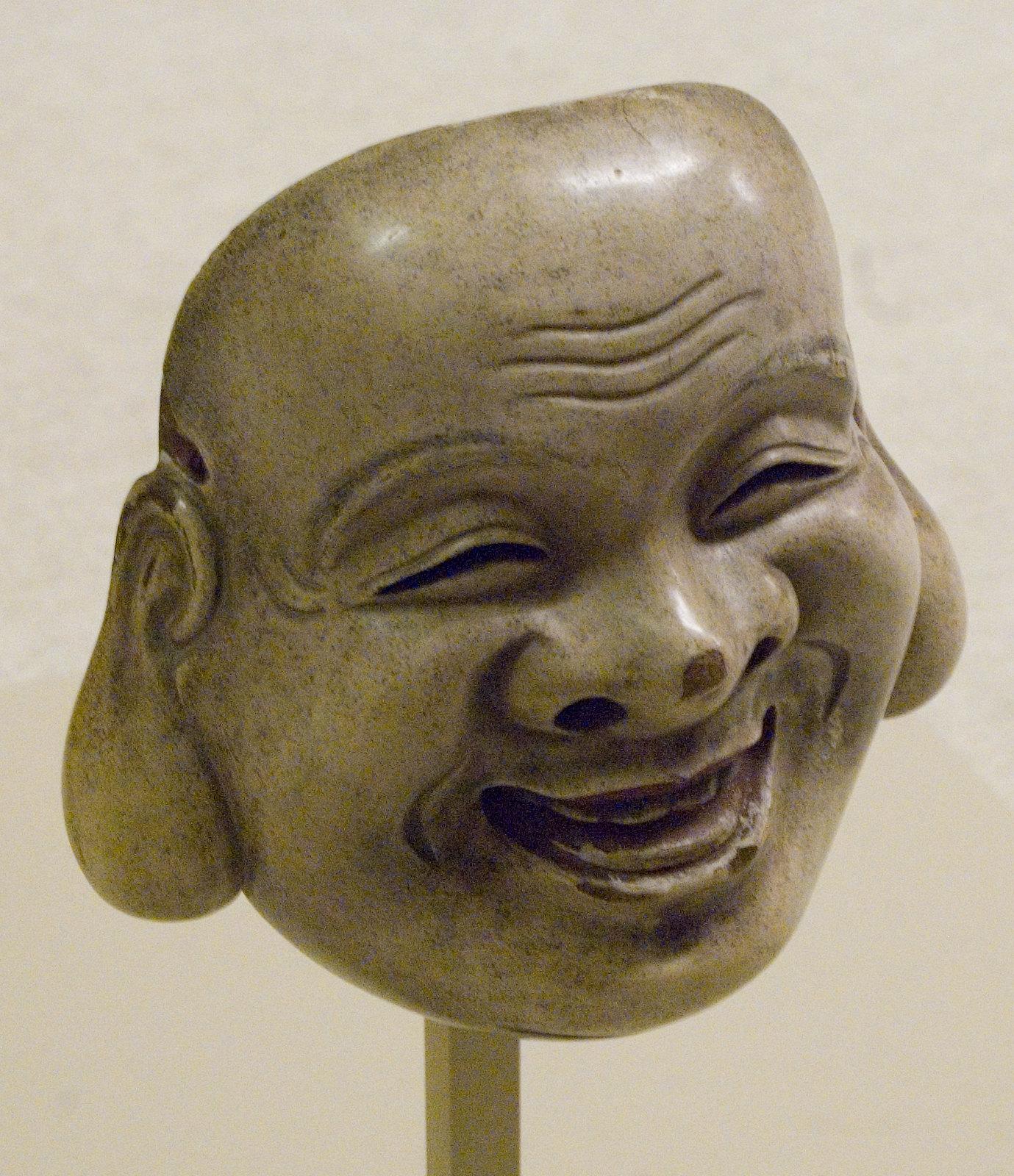Japan - Edo - Kyogen Mask - Daikoku God Luck