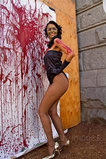 Rita Hayworth zombie