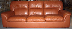 leather sofa | by Birdies100