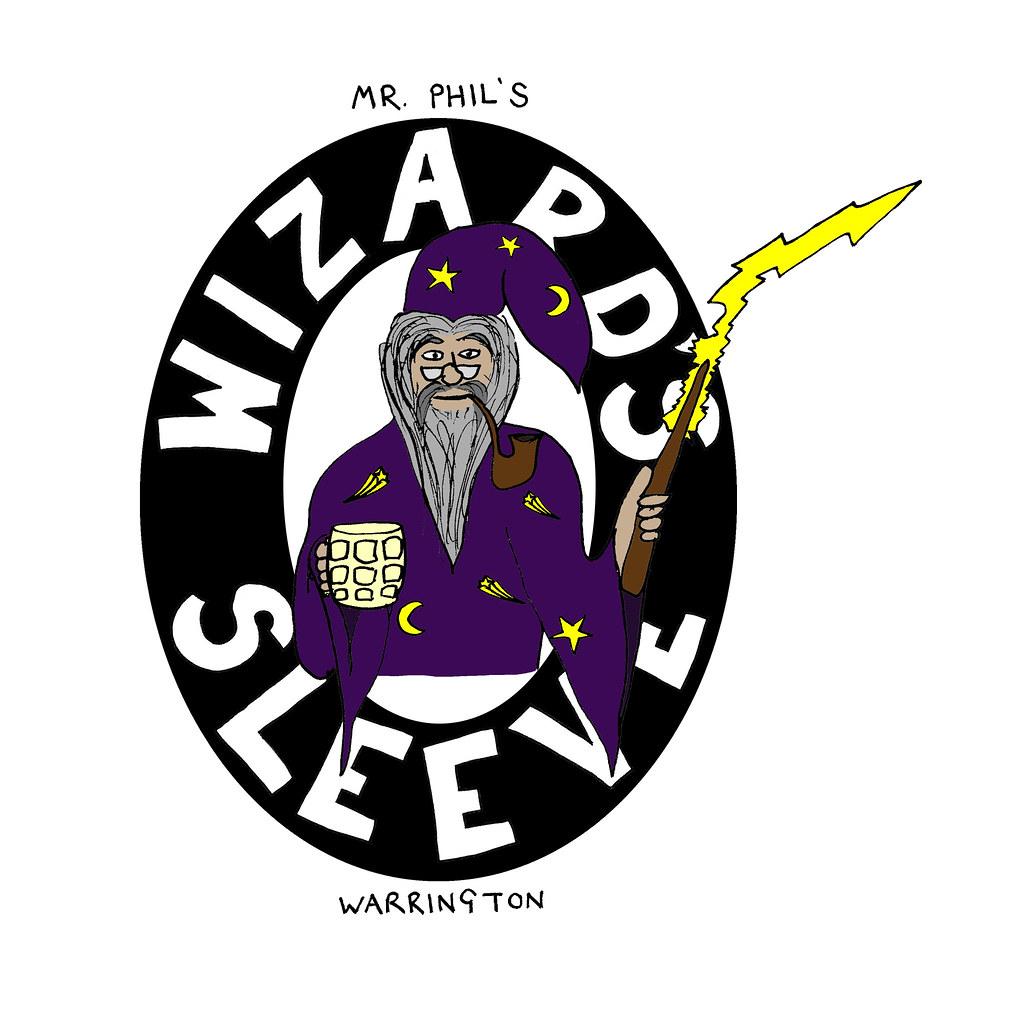 Wizard's Sleeve beer label | Andy Vine | Flickr