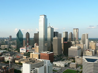 Downtown Dallas from Reunion Tower   by fcn80