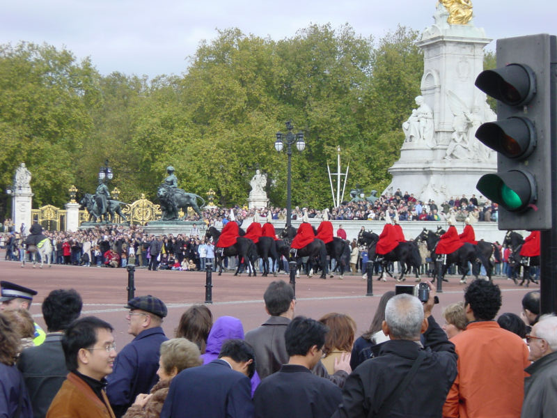 Buckingham Palace Changing of the Guards, London, England