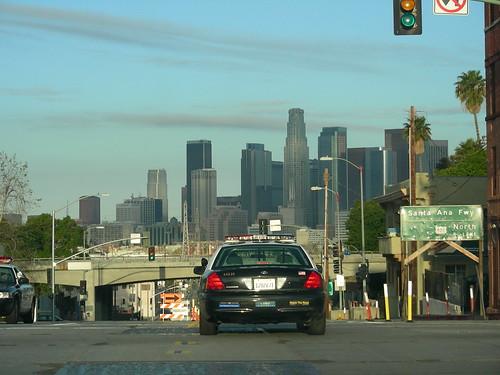 ford skyline la losangeles downtown lapd crownvictoria zip90033