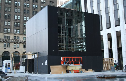 Apple's Flagship 5th Ave Store Under Construction | by bhaggs