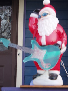 rock n roll santa | by emilyvalenza