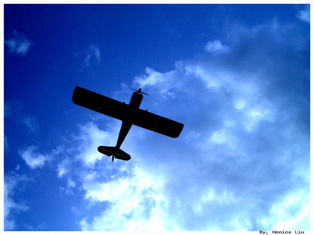 Both of my love (sky & plane)