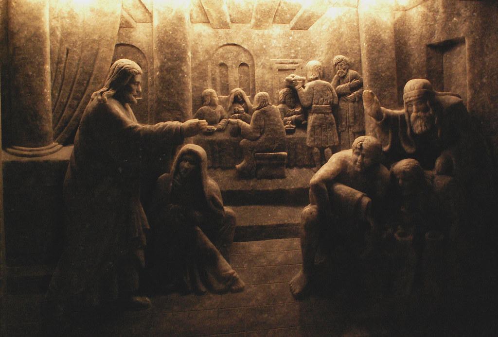 Carved Chapel Scene