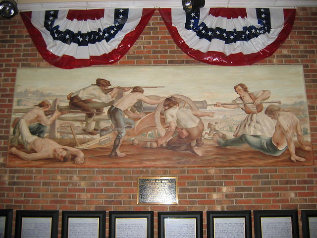 Freehold, New Jersey Post Office Mural