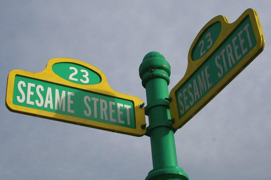 Sesame Street | Gavin St  Ours | Flickr