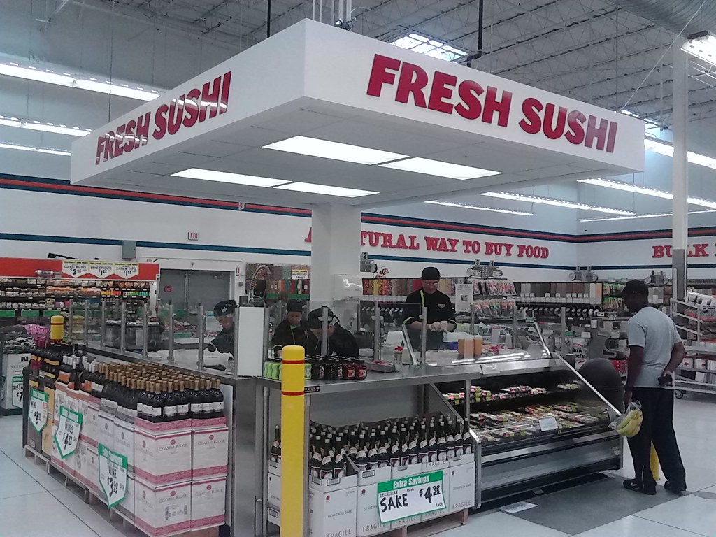 Winco Locations California Map.Winco Foods Fresh Sushi A New Addition To Winco Foods In Flickr