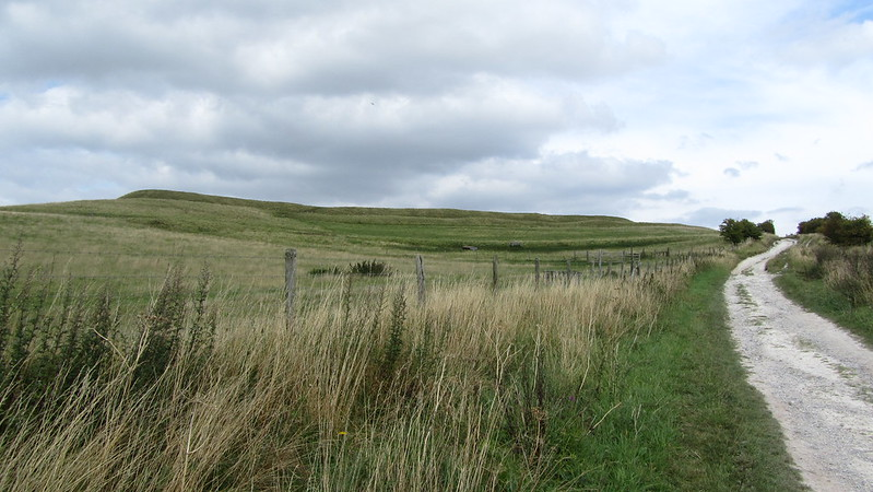 Uffington Castle and Whitehorse Hill