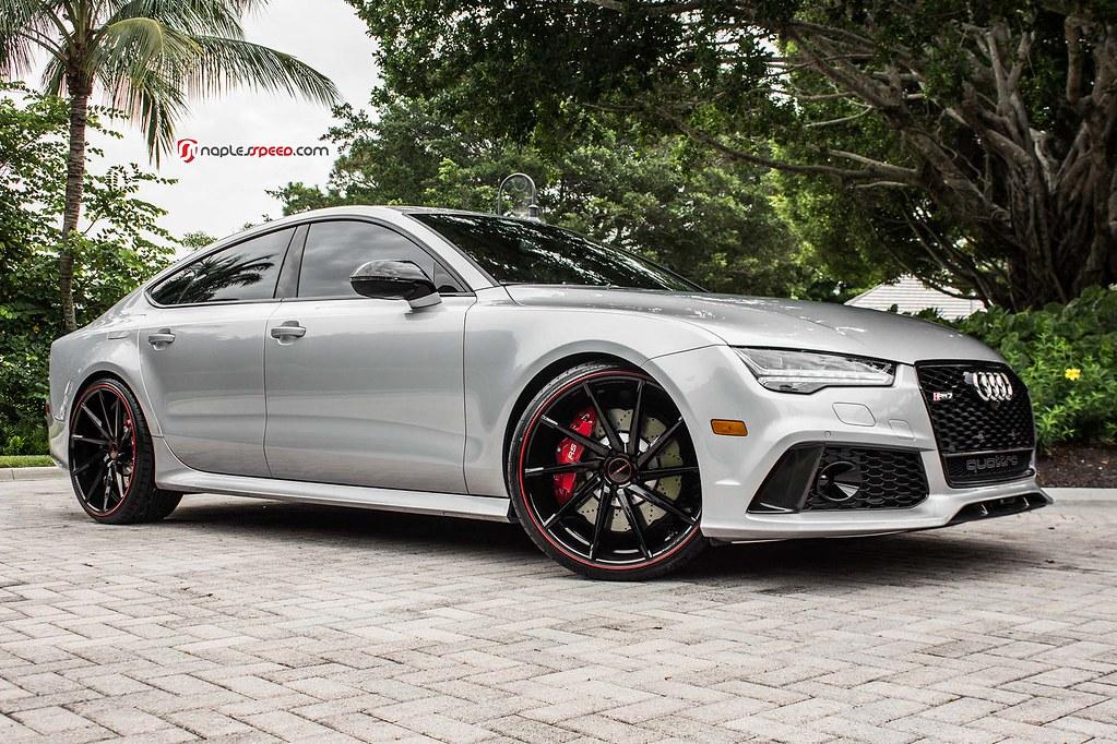Audi Rs7 Cvt Custom Painted C Vossen Wheels 2015 Flickr