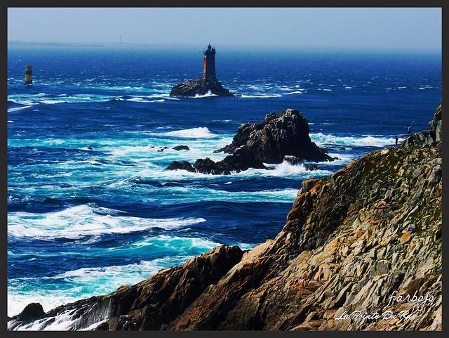 farbojo La Pointe Du Raz Finistère Bretagne le phare de la Vieille