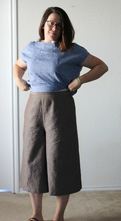 aug 11 style arc culottes waist | by wandering spirit designs