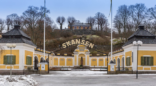 Skansen-Eingang (Entry) | by wuestenigel