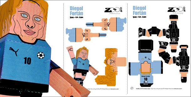 Diegol Fortán Paper Toy Assembly Guidelines
