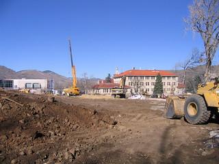 Colorado School of Mines Recreation Center Construction - November 2005 | by rocbolt