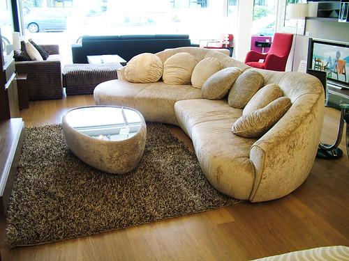 Zaurak corner sofa gold crushed velvet