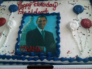 Birthday Cakes for the President-August 6, 2010 | by Barack Obama