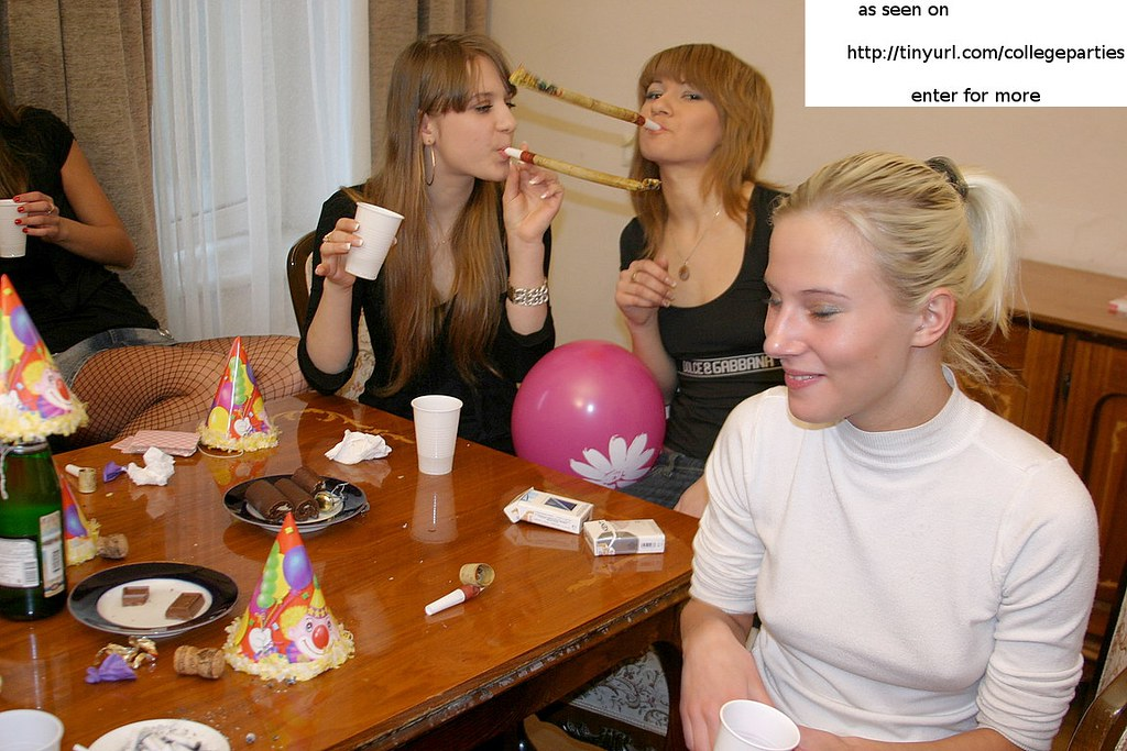 College Girls Sex Party