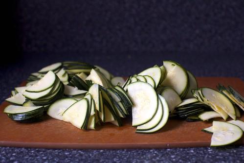 thinly sliced zucchini | by smitten kitchen