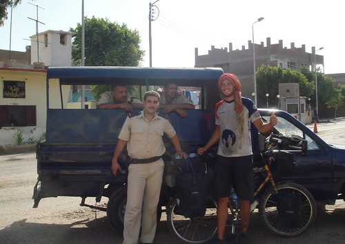 Cycling along the Nile: Police Escort | by BetterLifeCycle