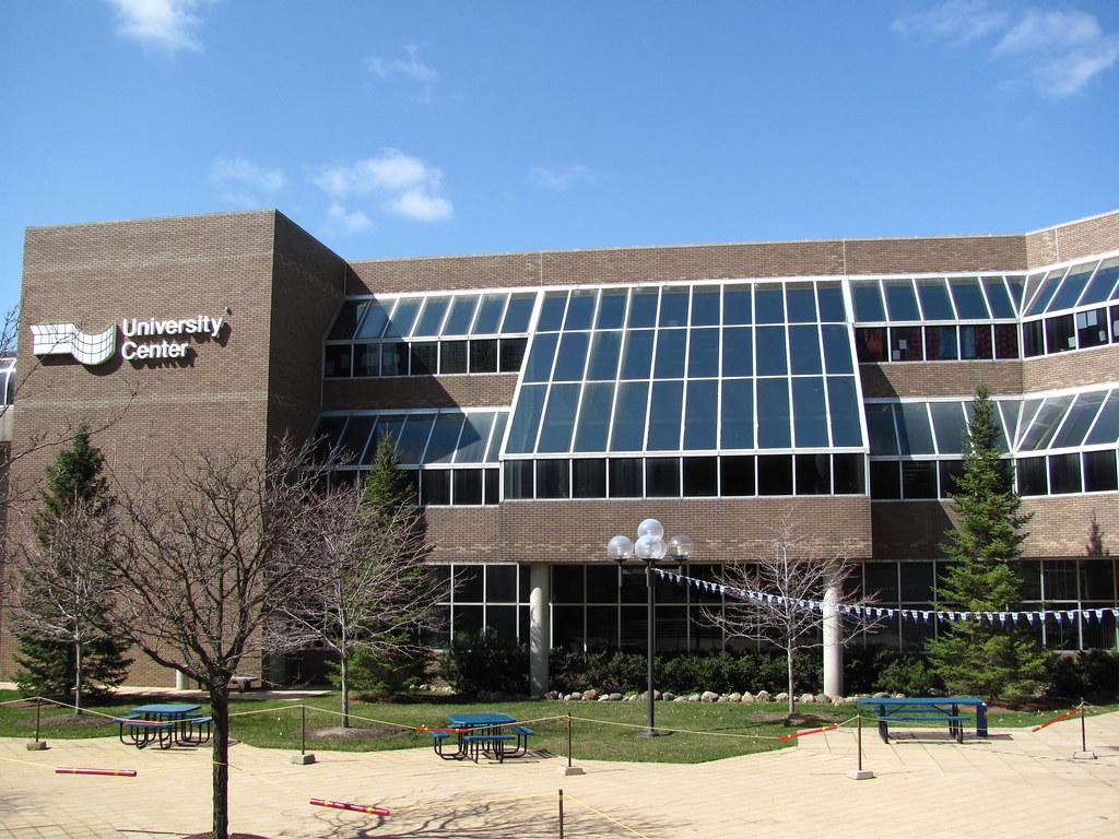 The Harding Mott University Center which serves as the student center