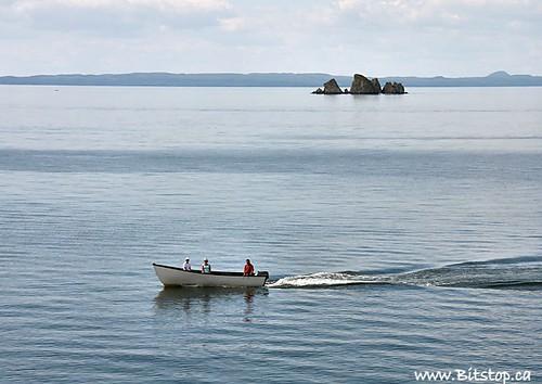 ocean blue sea summer people canada water rock newfoundland landscape boat scenery scenic atlantic hills nfld eastcoast trinitybay shagrock whiteway seacape avalonpeninsula