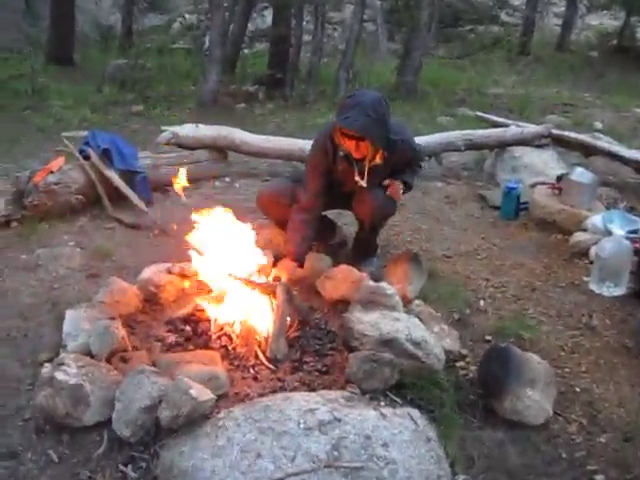 3026 Video of our early morning fire along Rafferty Creek