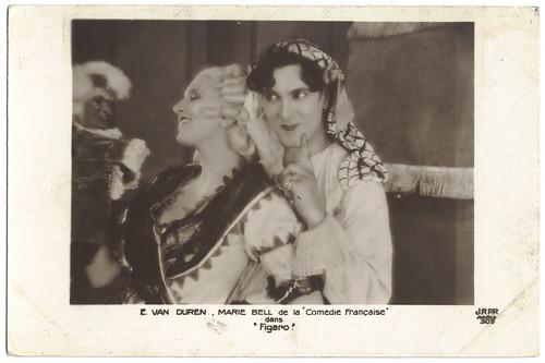 DUREN, E. van & BELL, Marie in Figaro_JRPR; 309