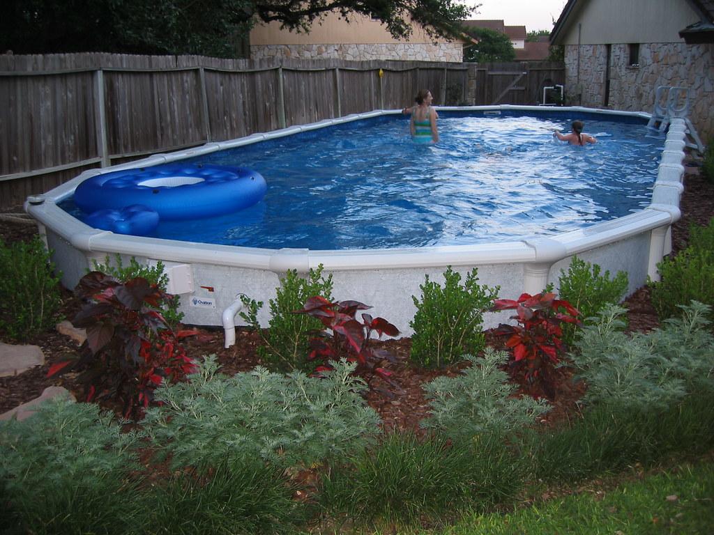 Oval Pool - San Antonio | 18x40 foot Oval Pool; San Antonio ...