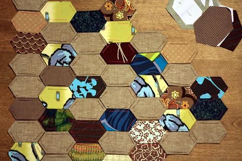 hexagons   by artsy-crafty babe