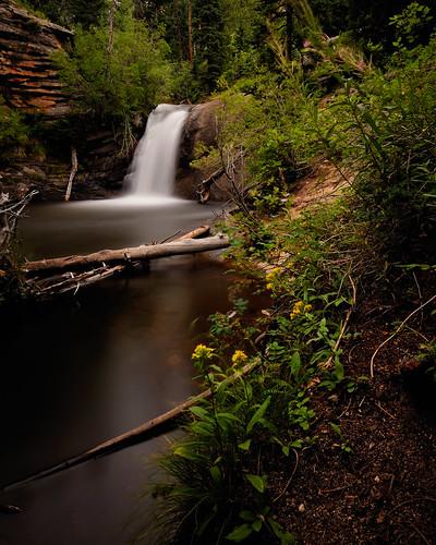 longexposure summer fall nature landscape waterfall nikon colorado nps falls co rmnp np cascade rockymountainnationalpark silky 2010 floers sna larimer westcreek vle clff nikon1735 d700 westcreekstatenaturalarea bwneautraldensity