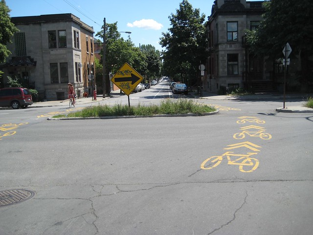 Montréal On-Street Bike Lanes
