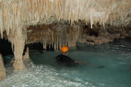 memories of #mexico - Río Secreto, Riviera Maya #cave #tra