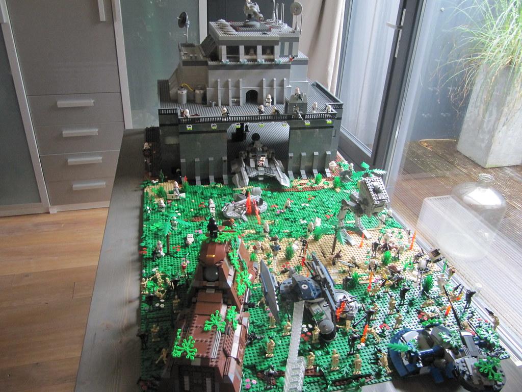 Star Wars Clone Base On Endor Tmm Flickr