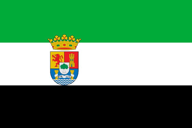 Resultado de imagen de extremadura bandera