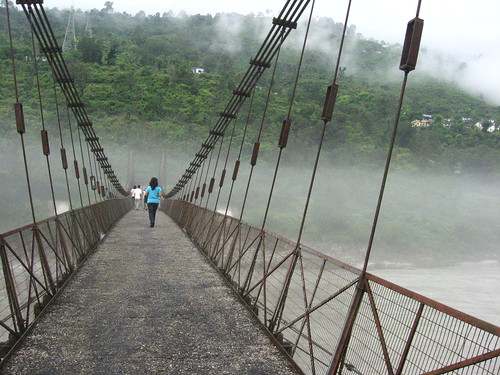 Bridge over R. Alakananda   by Runa B