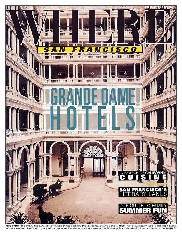 Cover Where Magazine Palace Hotel