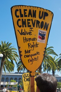 Make Big Oil Pay march to Chevron, EPA & BP 81