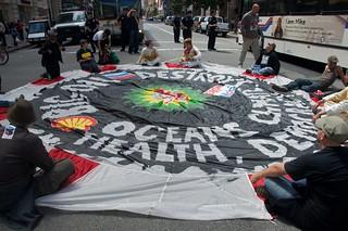 Make Big Oil Pay march to Chevron, EPA & BP 395