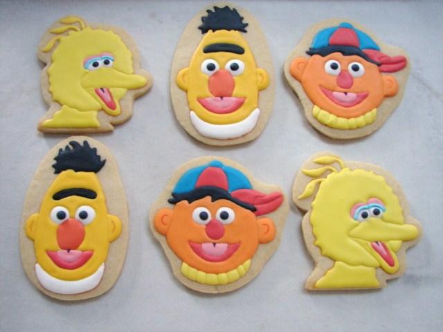Sesame Street Characters Big Bird Ernie And Bert Well I V