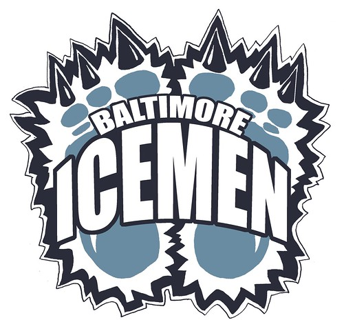 Baltimore Icemen Logo | by Mike Riley