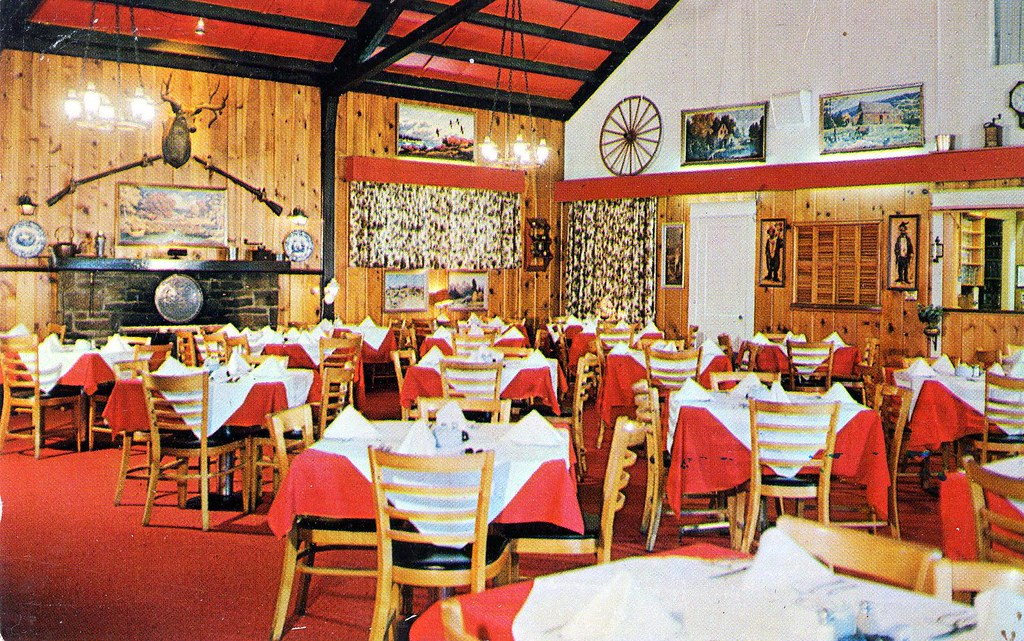 Jack Davis S Brook Farm Restaurant Chevy Chase Md 7101 Bro