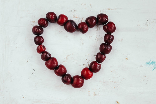 Heart made with cherries | by wuestenigel