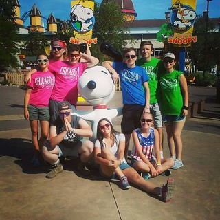 Squad up with Snoopy