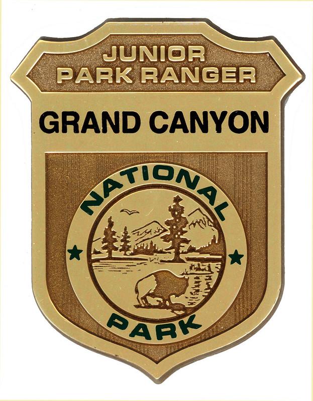 Grand Canyon Jr. Ranger Badge