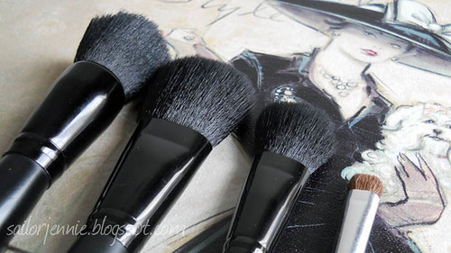 elf brushes | by sailor.jennie
