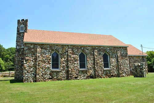 church stone blueridgeparkway presbyterian brp bluemont nationalregister nrhp bobchildress 07000224